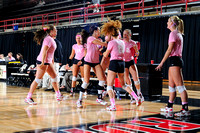 NCAA WOMEN'S VOLLEYBALL:  OCT 28 High Point at Gardner-Webb